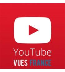Acheter des vues Youtube France