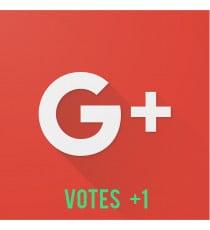 votes google+1