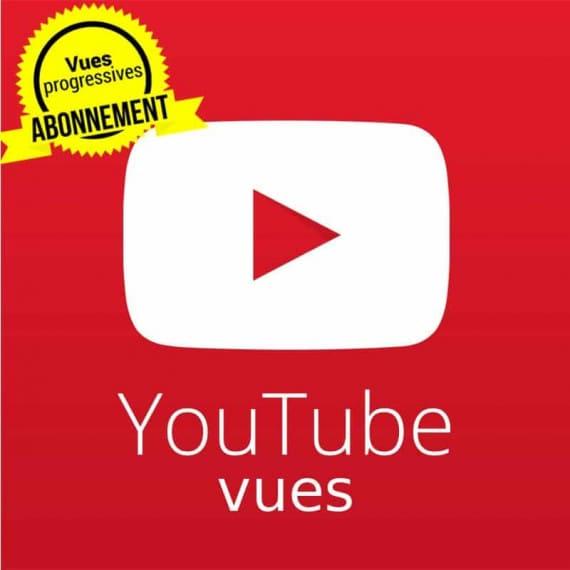 Abonnement vues youtube