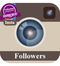 Abonnement followers Instagram