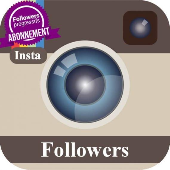 Abonnement followers Instagram
