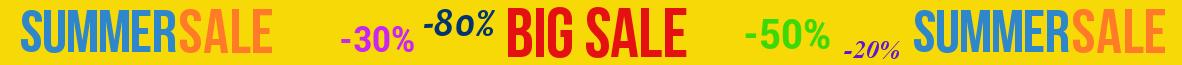 Big Summer Sale 2017 !